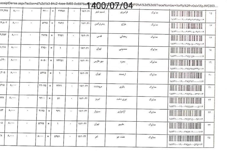ارسال های مدابوک 4 مهر 1400 2
